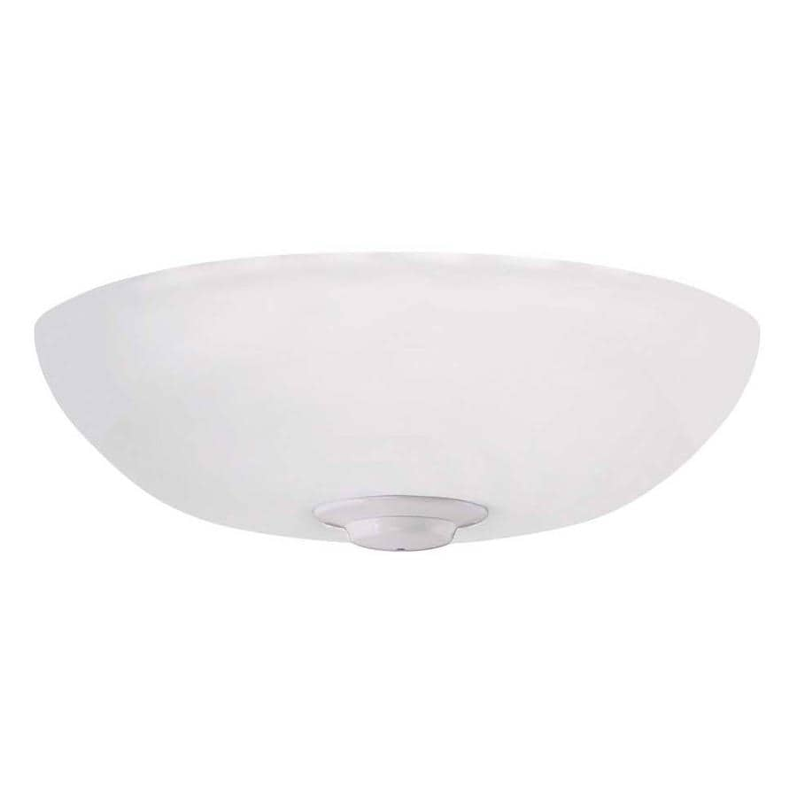 Emerson Emerson Harlow Led Ceiling Fan Light Fixture Appliance White Finish In The Ceiling Fan Light Kits Department At Lowes Com