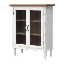 Veikous 21 6 In W X 67 In H X 7 4 In D Bathroom Solid Wooden Over The Toilet Storage Cabinet Organizer In White In The Utility Storage Cabinets Department At Lowes Com