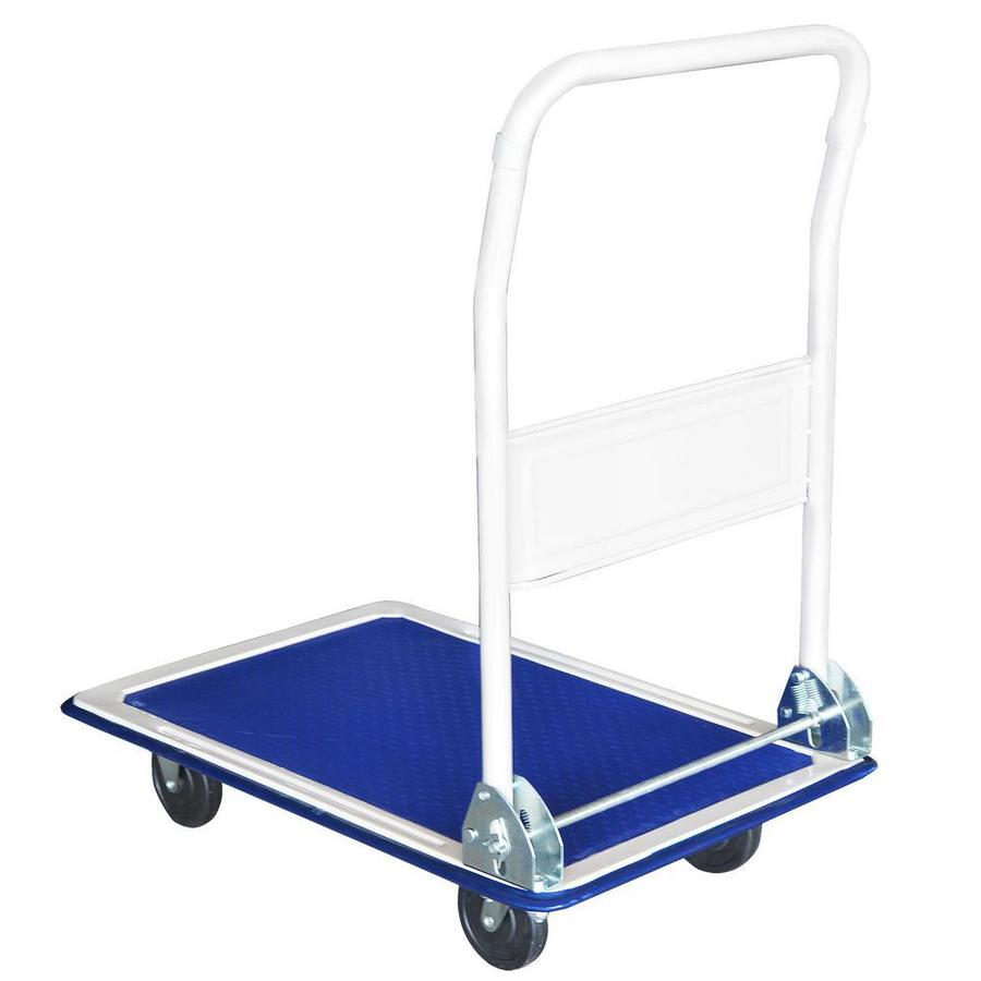 Steel Core 330 Lb Capacity Folding Platform Cart And Dolly In The Hand Trucks Dollies Department At Lowes Com