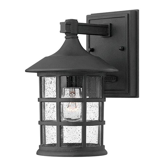 Hinkley Freeport Small Wall Mount Lantern In The Outdoor Wall Lights Department At Lowes Com