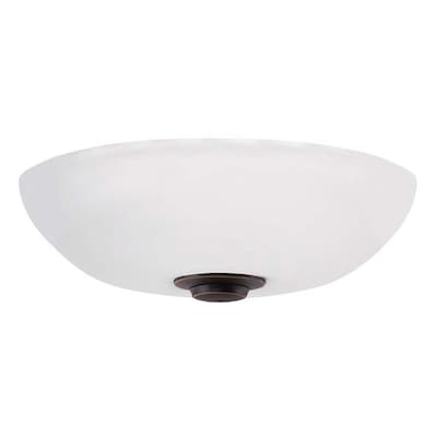 Opal Matte Harlow Ceiling Fan Light Kits At Lowes Com