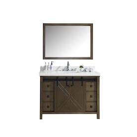 Virtu Usa Caroline Estate 48 In Espresso Single Sink Bathroom Vanity With Italian Carrara White Marble Top Mirror Included In The Bathroom Vanities With Tops Department At Lowes Com