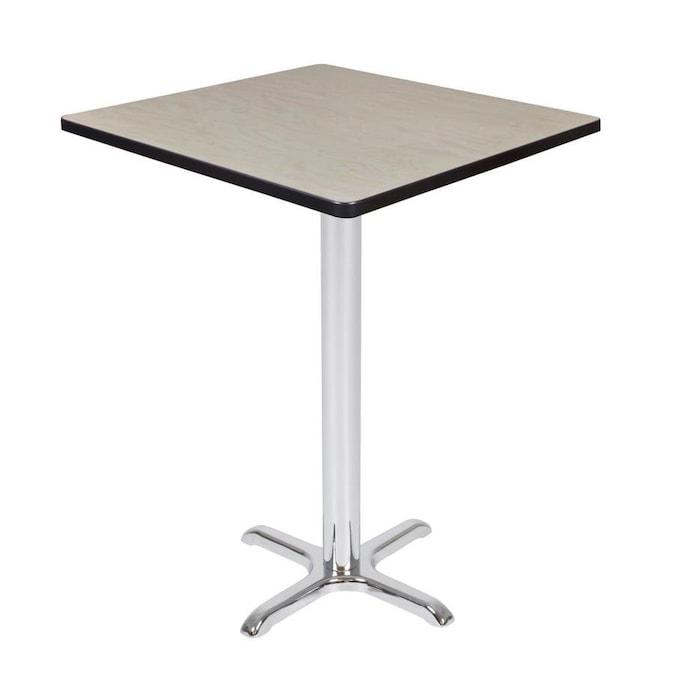 Regency Cali Square Breakroom Table 30 Light Maple