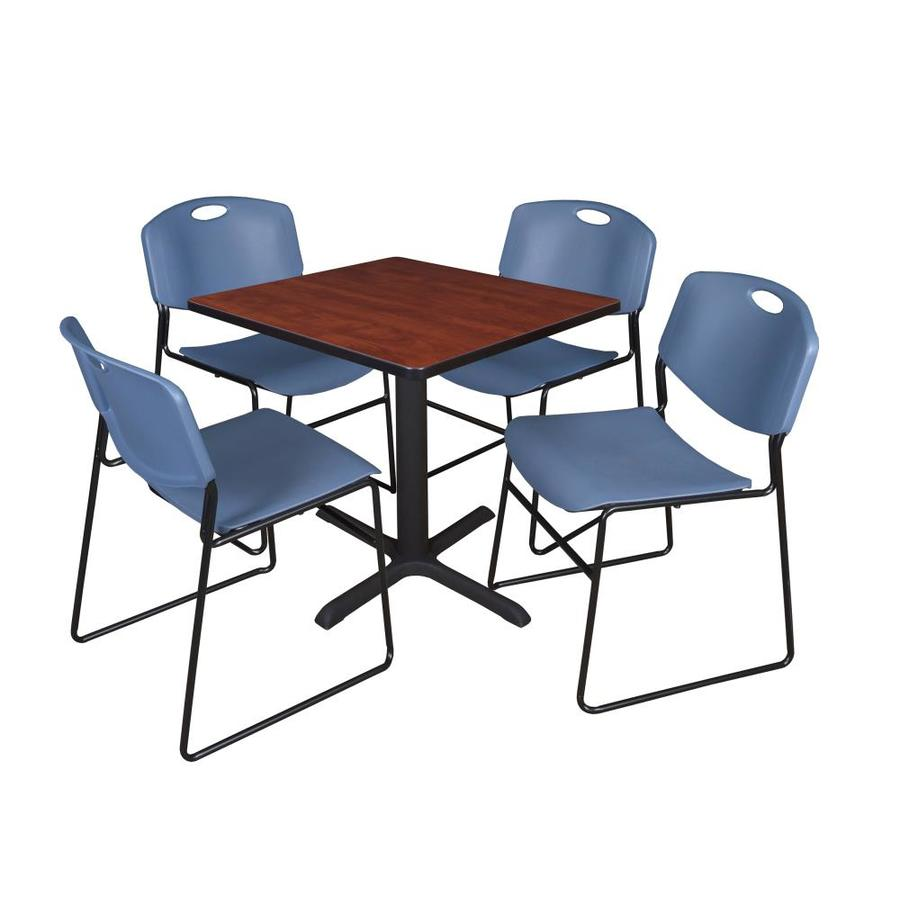 Regency Breakroom Red 4 Person Training Table 30 In W X 29 In H In The Office Tables Department At Lowes Com