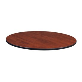 Regency Cherry Maple Round Craft Table Top Actual 1 X 30 X 30 In The Table Tops Department At Lowes Com