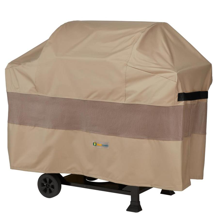 Duck Covers Duck Covers Elite 61 In Swiss Coffee Gas Grill Cover In The Grill Covers Department At Lowes Com