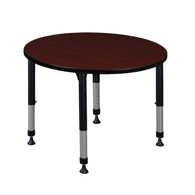 Regency Classroom Tables Brown 4 Person Training Table 42 In W X 34 In H In The Office Tables Department At Lowes Com