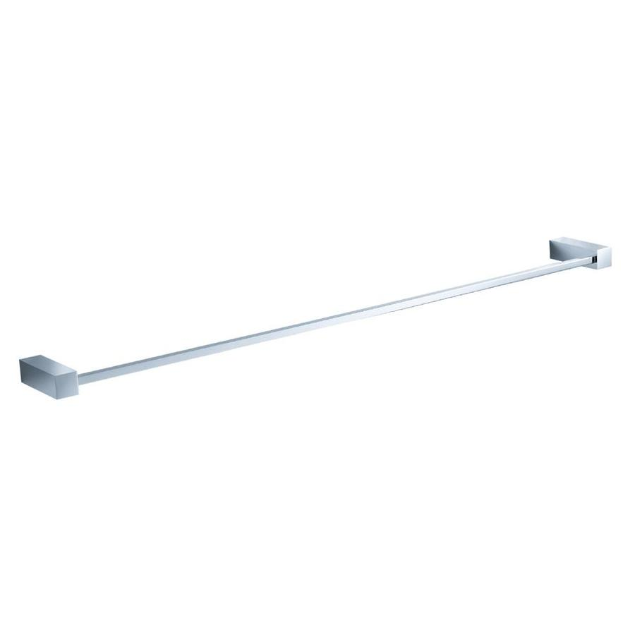 Fresca Ottimo 24 In Chrome Wall Mount Single Towel Bar In The Towel Bars Department At Lowes Com