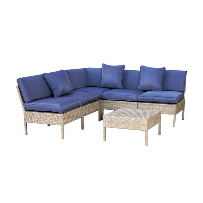 Space Patio Sectional Set, Outdoor Furniture Sectionals