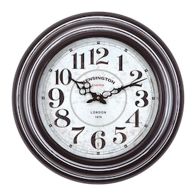 Yosemite Home Decor Grand Crowned Wall Clock In The Clocks Department At Lowes Com