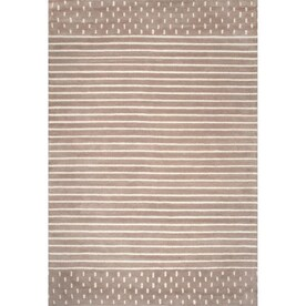 Nuloom Meredith 6 X 6 Ivory Square Indoor Geometric Area Rug In The Rugs Department At Lowes Com