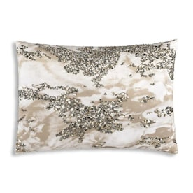 Inspire Me Home Decor Amal 14 In X 20 In Charcoal Velvet Rectangular Indoor Decorative Pillow In The Throw Pillows Department At Lowes Com
