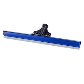 """Bon 82-330 Notched Floor Squeegee 24/""""  Red Rubber"""