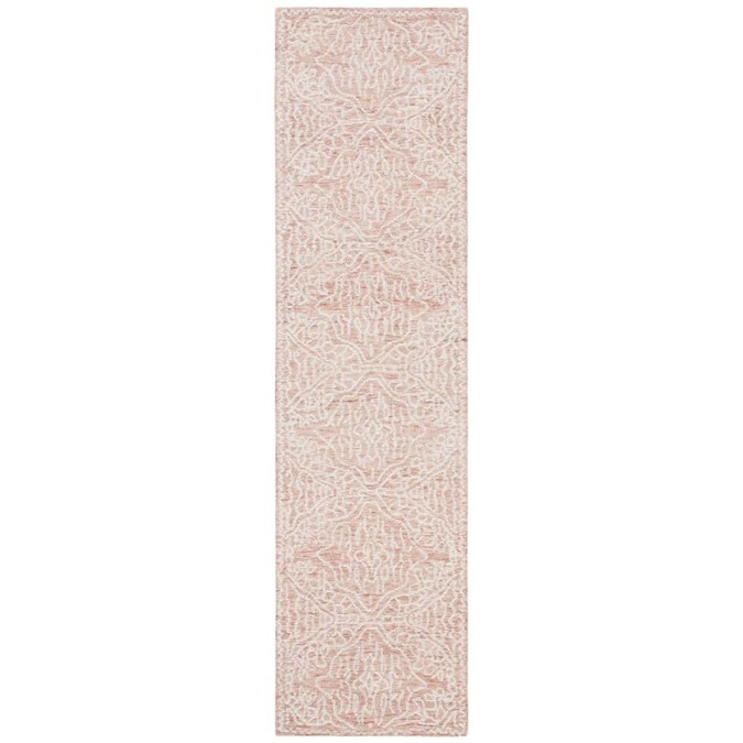 Safavieh Capri 2 X 9 Rust Ivory Indoor Abstract Bohemian Eclectic Handcrafted Runner In The Rugs Department At Lowes Com