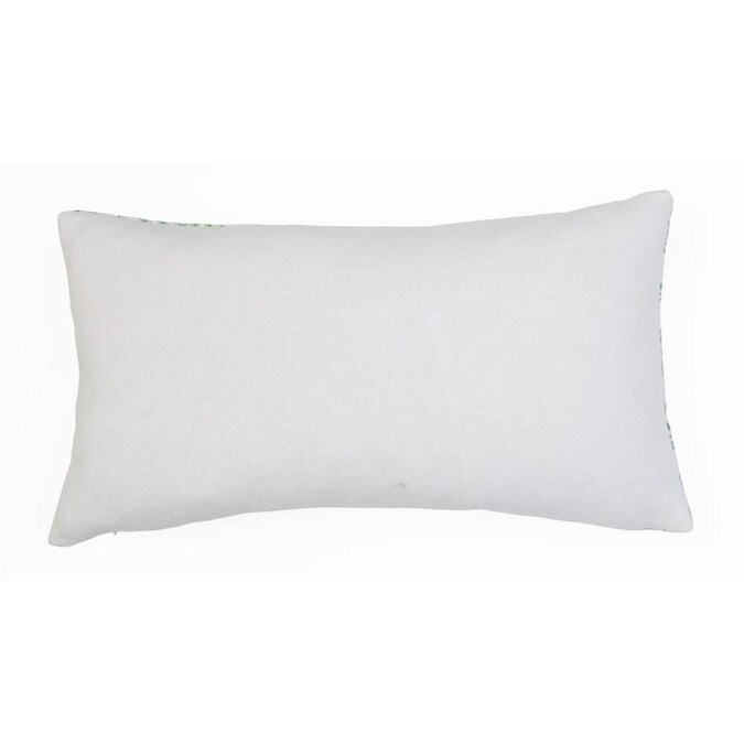 Decor Therapy Thro By Marlo Lorenz Assorted Sizes Bright White Woven Polyester Novelty Indoor Decorative Pillow In The Throw Pillows Department At Lowes Com