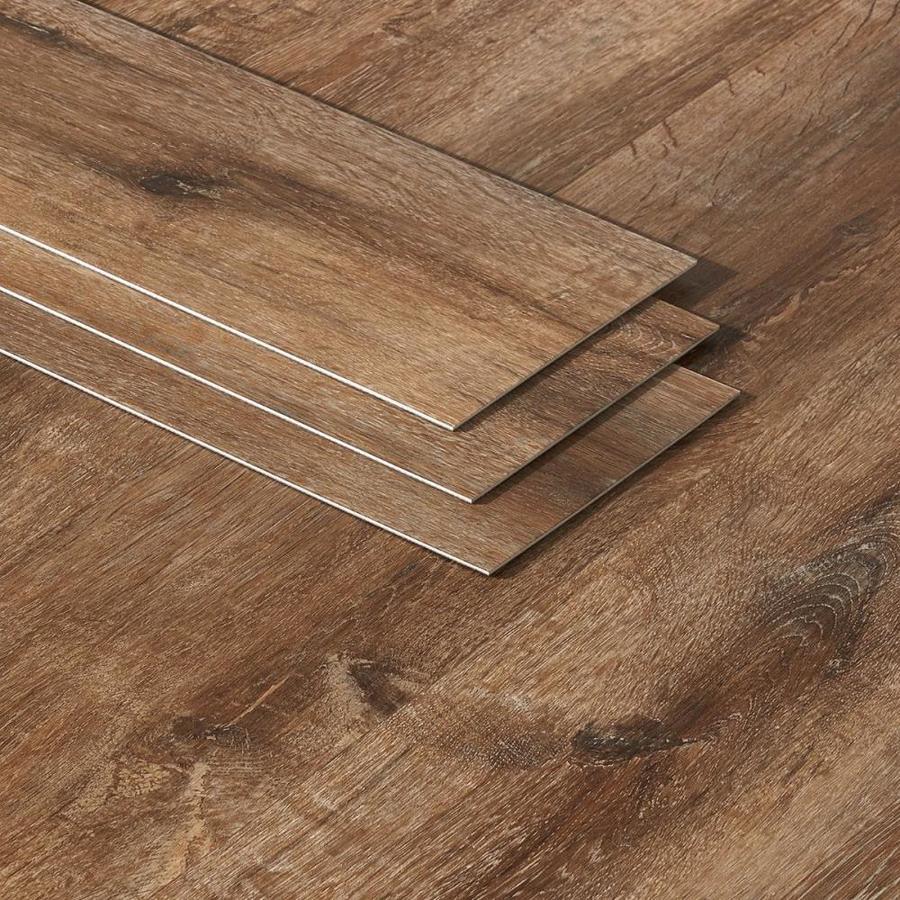 Artmore Tile Loseta Wood Look Cantal Oak 6 In X 48 In Waterproof Luxury Vinyl Plank Flooring 36 Sq Ft In The Vinyl Plank Department At Lowes Com