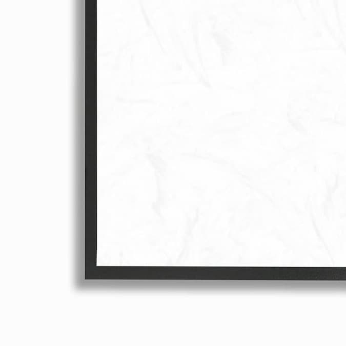 Stupell Industries Stupell Industries Painted Patterned Rocks Organic Abstract Lines Black Framed Giclee Texturized Art By Kim Rupe 11 X 1 5 X 14 In The Wall Art Department At Lowes Com