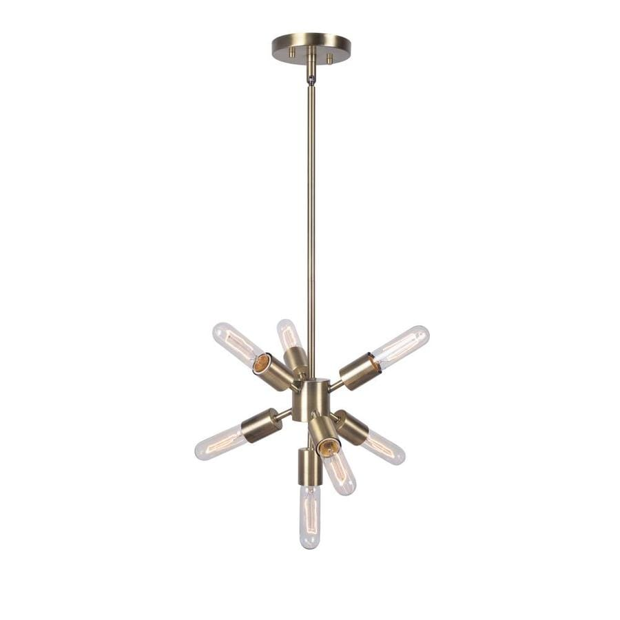 North Star Designs Deming 7 Light Chandelier In The Pendant Lighting Department At Lowes Com