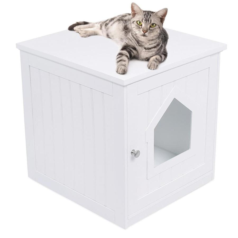 Birdrock Home Internet S Best Decorative Cat House And Side Table Cat Home Nightstand Indoor Pet Crate Litter Box Enclosure Hooded Hidden Pet Box Cats Furniture Cabinet