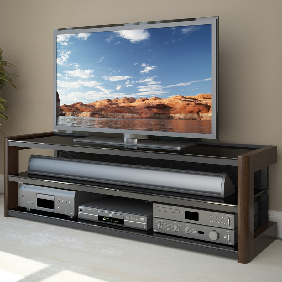CorLiving Milan Dark Espresso Rectangular TV Cabinet
