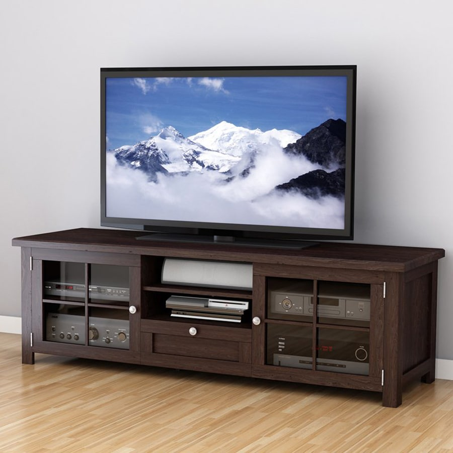 CorLiving Arbutus Dark Espresso Rectangular TV Cabinet