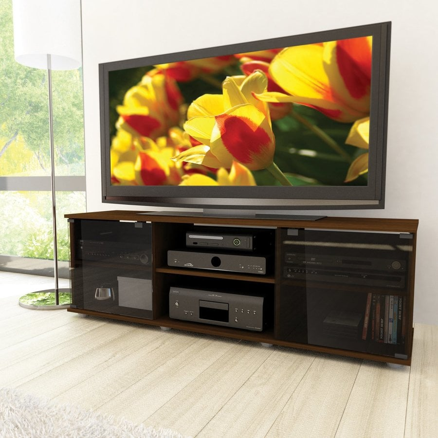CorLiving Brown Rectangular Television Cabinet