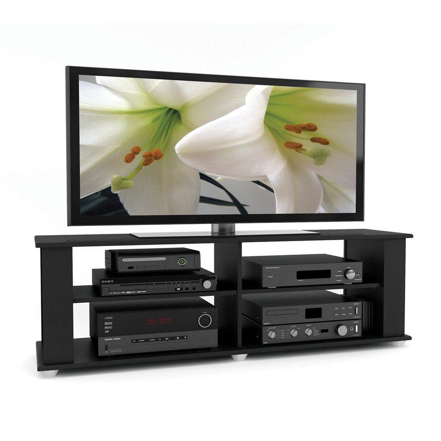 CorLiving Filmore Midnight Black TV Cabinet