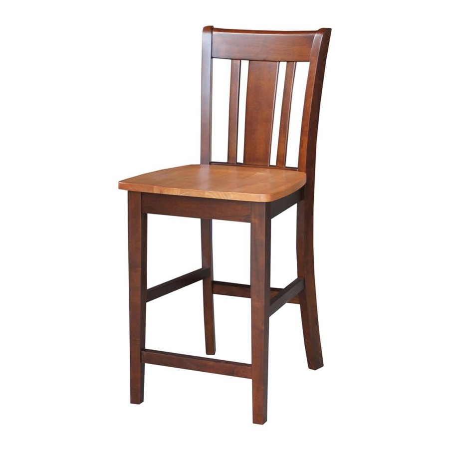 International Concepts San Remo Cinnamon/Espresso Counter Stool