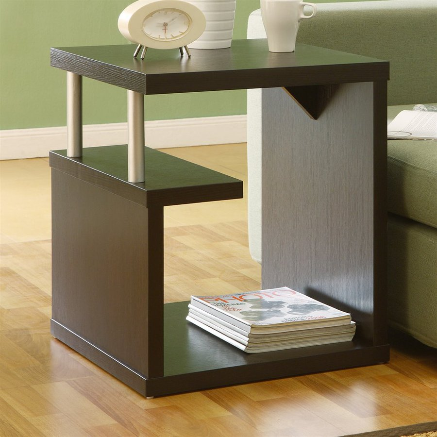 Enitial Lab Espresso End Table