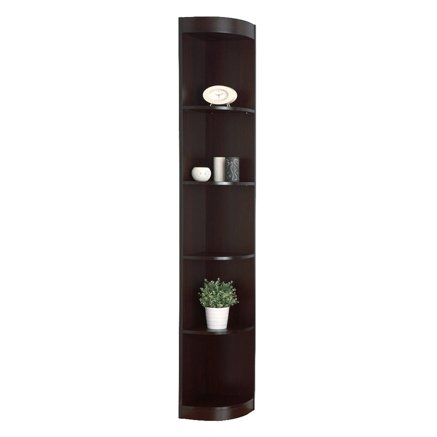 Enitial Lab Califa Cappuccino 5-Shelf Bookcase