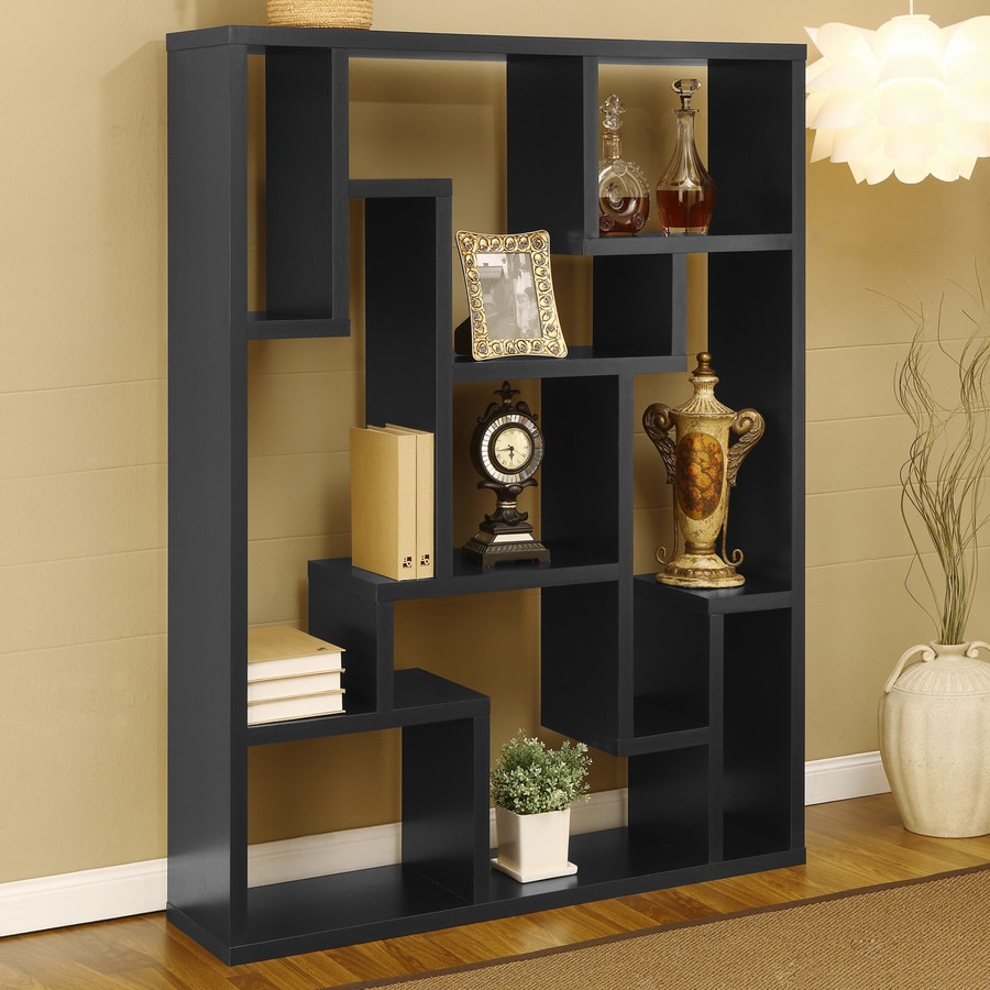Enitial Lab Ciralli Black 9-Shelf Bookcase