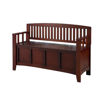 Groovy Walnut Indoor Entryway Bench With Storage Short Links Chair Design For Home Short Linksinfo