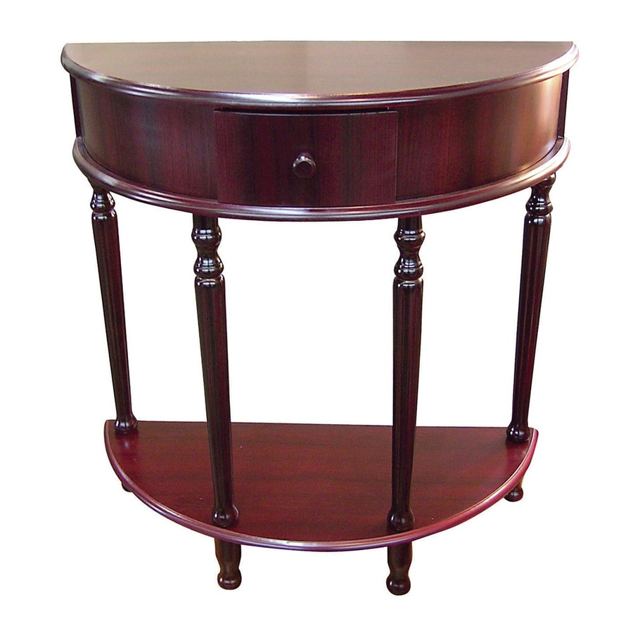 Cherry Side Table ~ Shop ore international painted cherry end table at lowes