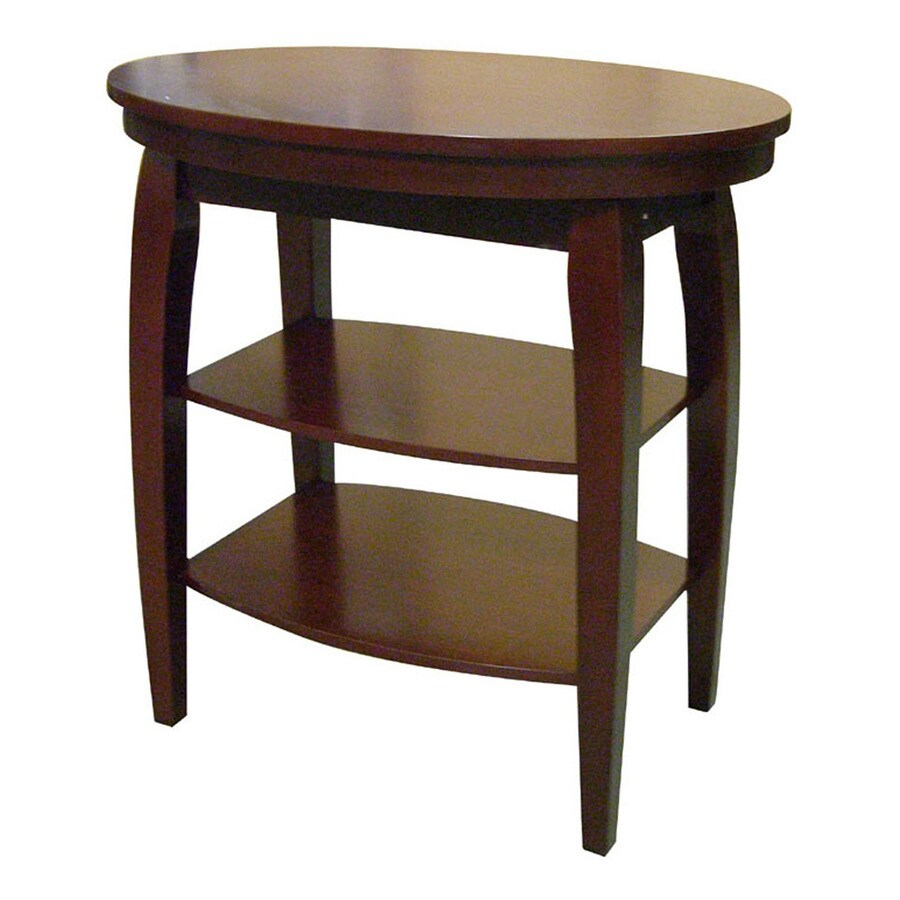 ORE International Cherry End Table