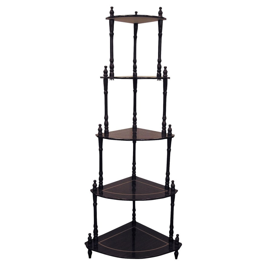 ORE International Cherry Rubber Etagere