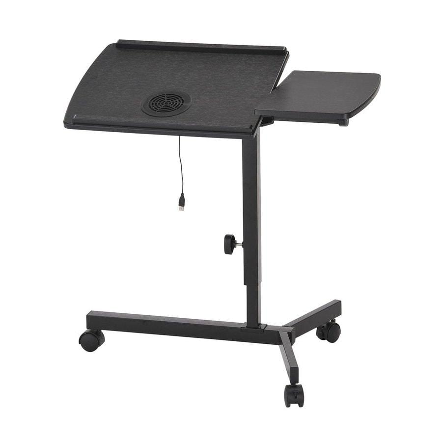 ORE International Black Laptop Desk