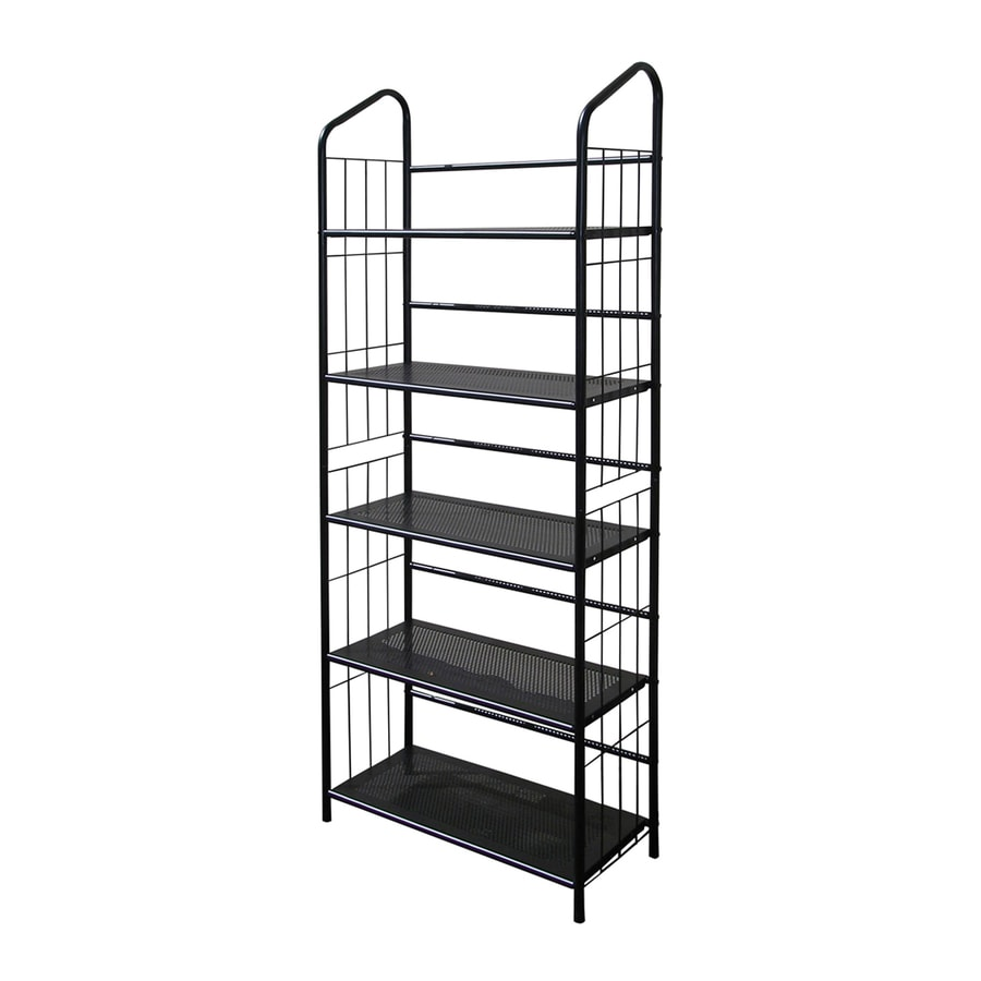 ORE International Back 26-in W x 60-in H x 11-in D 5-Shelf Bookcase