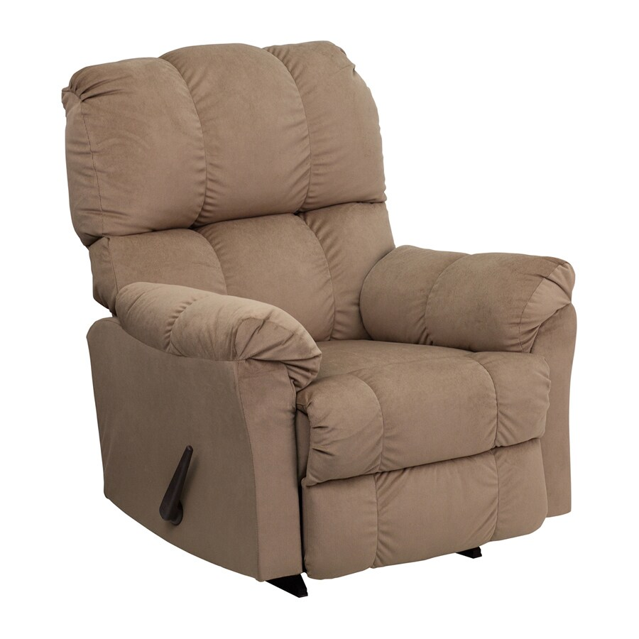 Shop Flash Furniture Top Hat Coffee Microfiber Recliner At