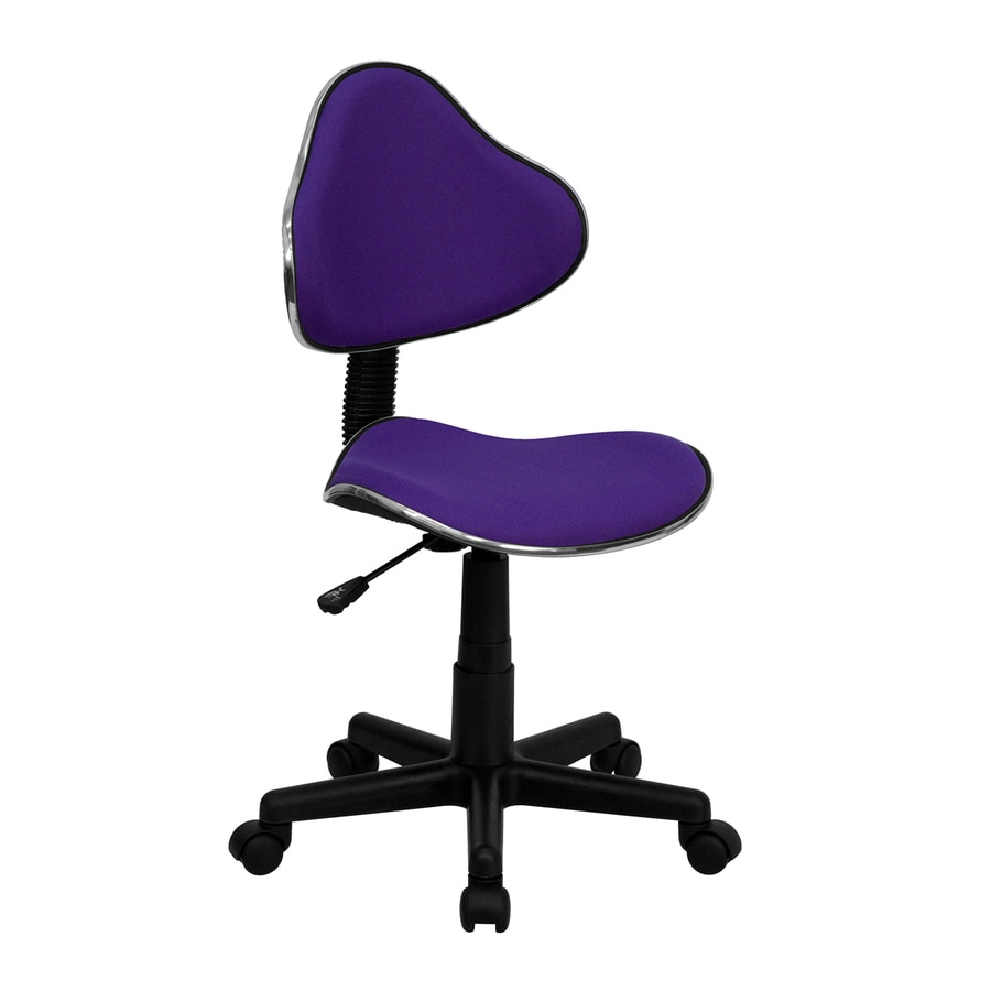 Flash Furniture Black/purple Casual Task Chair