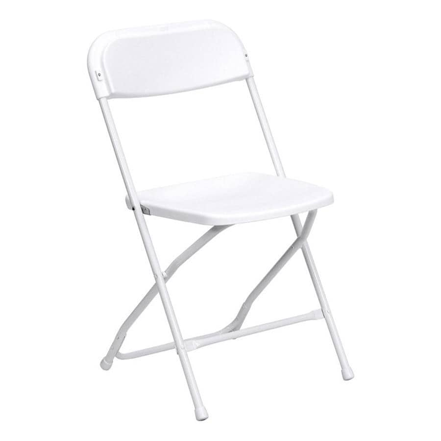 Shop Flash Furniture Indoor/Outdoor Steel Standard Folding Chair ...