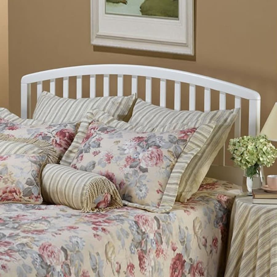 Hillsdale Furniture Carolina White Full/Queen Bed