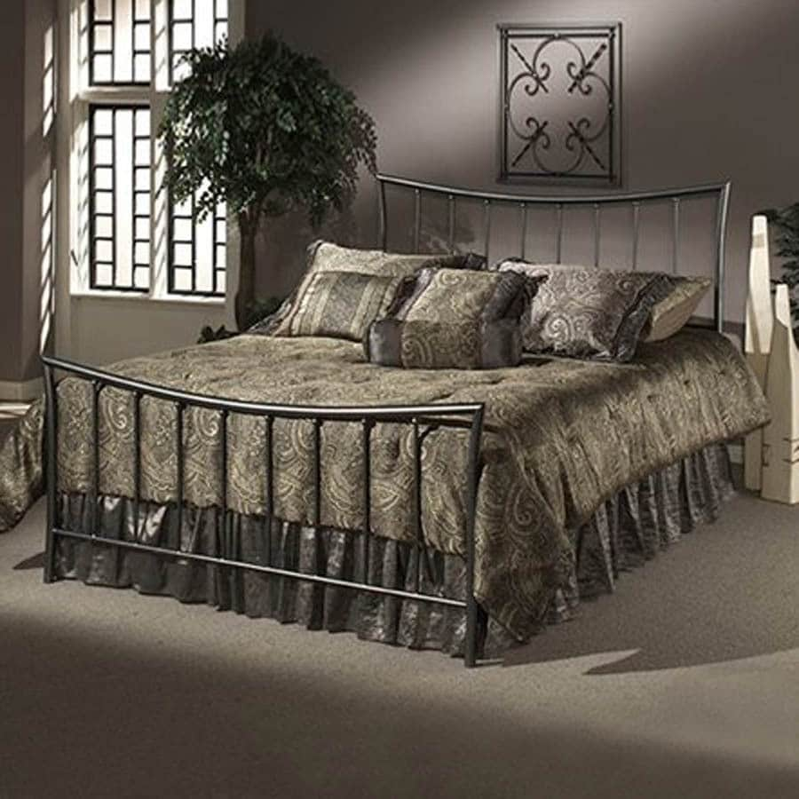 Hillsdale Furniture Edgewood Magnesium Pewter Queen Bed