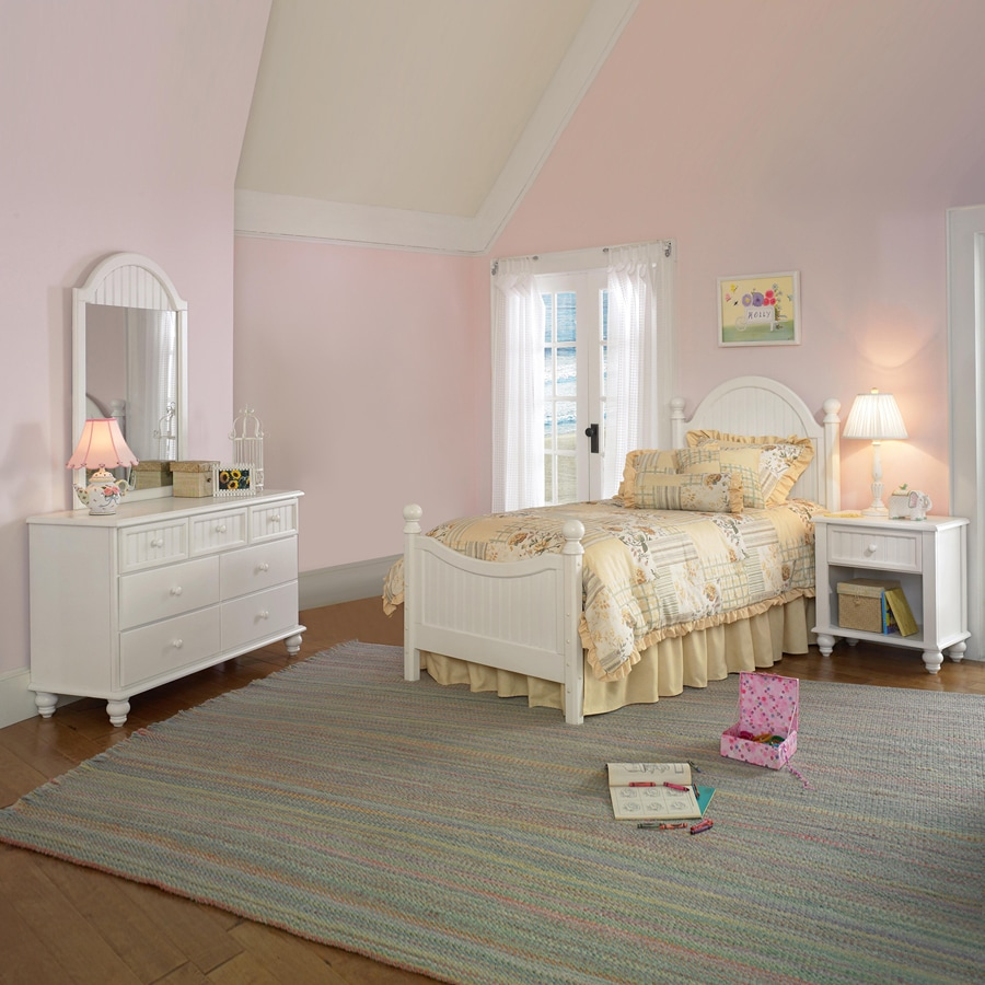 Shop Hillsdale Furniture Westfield Off White Twin Bedroom Set At