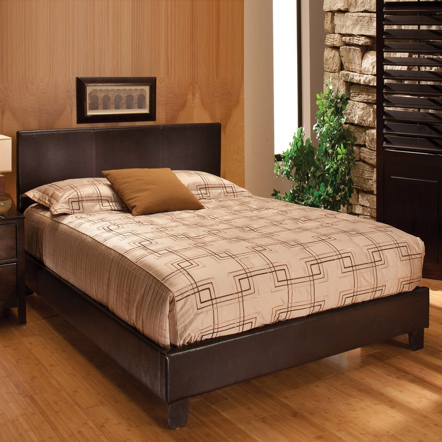 Hillsdale Furniture Harbortown Brown Upholstered Bed