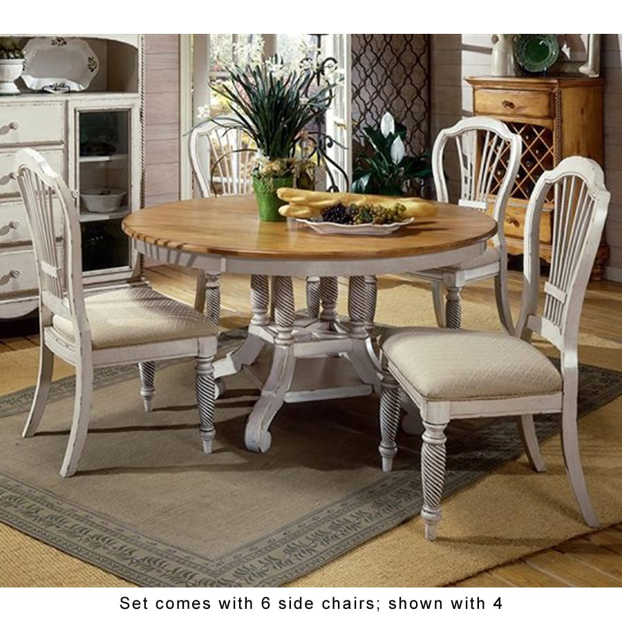 Attractive Hillsdale Furniture Wilshire Antique White Dining Set