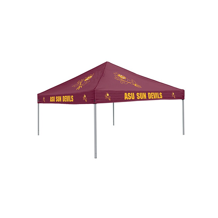 Logo Chairs Tailgating Tent 9-ft W x 9-ft L Square NCAA Arizona  sc 1 st  Loweu0027s & Shop Logo Chairs Tailgating Tent 9-ft W x 9-ft L Square NCAA ...