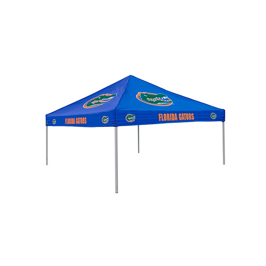 Logo Chairs Tailgating Tent 9-ft W x 9-ft L Square NCAA University Of Florida Gators Steel Pop-Up Canopy