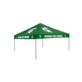 Logo Chairs Tailgating Tent 9-ft W x 9-ft L Square NCAA Michigan  sc 1 st  Loweu0027s & Shop Canopies u0026 Accessories at Lowes.com