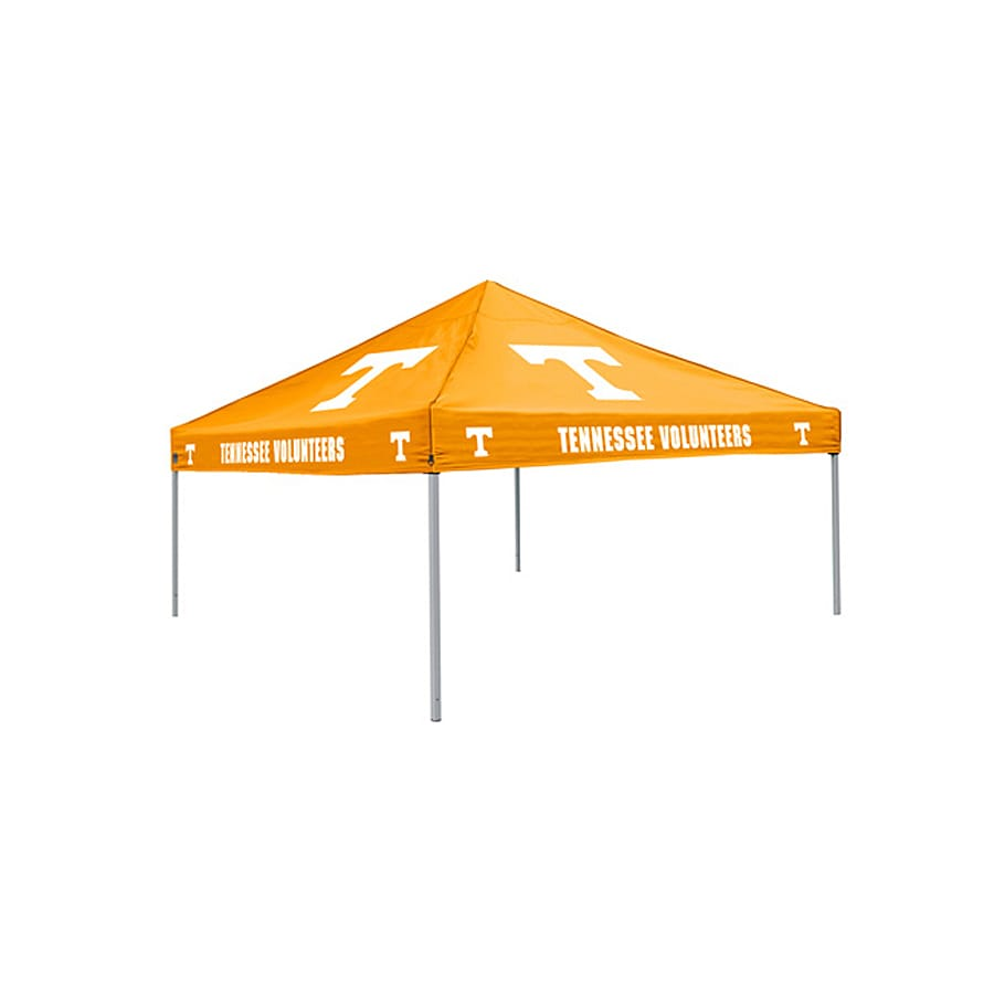 Logo Chairs Tailgating Tent 9-ft W x 9-ft L Square NCAA University  sc 1 st  Loweu0027s : tailgate canopies - memphite.com