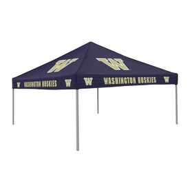logo chairs tailgating tent 9ft w x 9ft l square ncaa university - 12x12 Canopy